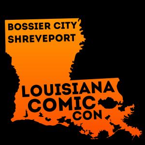 Louisiana Comic Con Bossier City Shreveport Logo