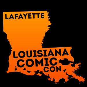 Louisiana Comic Con Lafayette Logo
