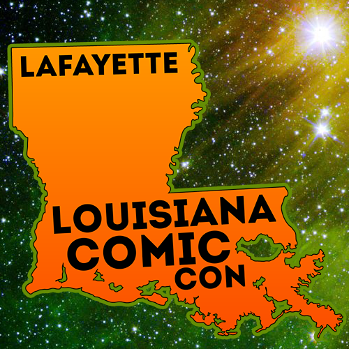 Free Comic Book Day Logo: March 16 & 17, 2019 – Cajundome